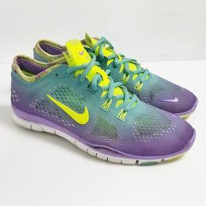 8b31343e69fb6 Women s Nike Run Free 5.0 Running Shoes on Poshmark